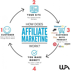 What Is Wealthy Affiliate About-Affiliate Marketing Graph