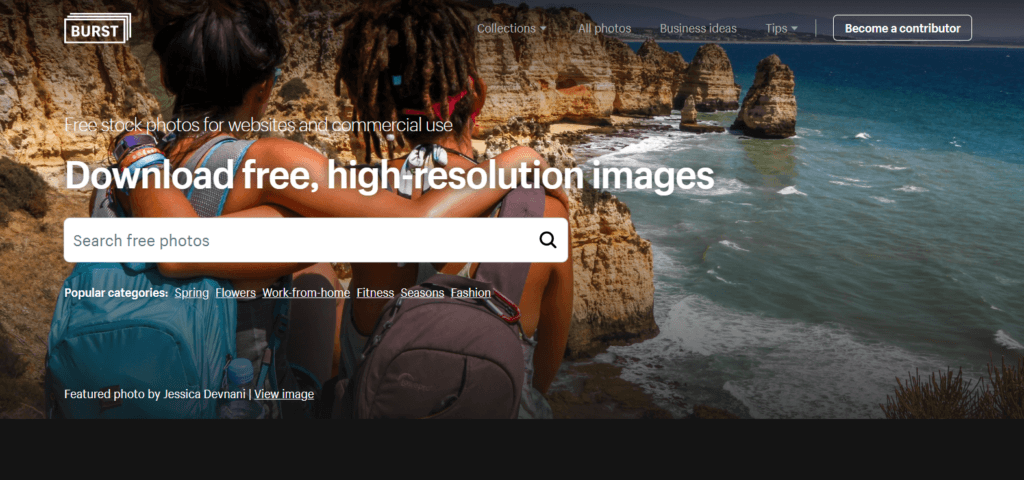 Stock Images for Websites-Burst