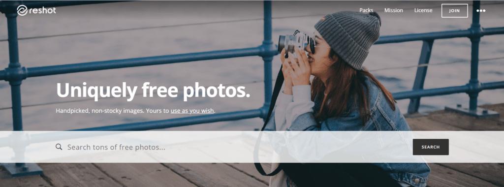 Stock Images for Websites-Reshot