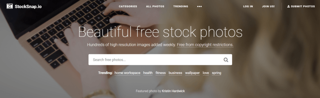 Stock Images for Websites-StockSnap.io