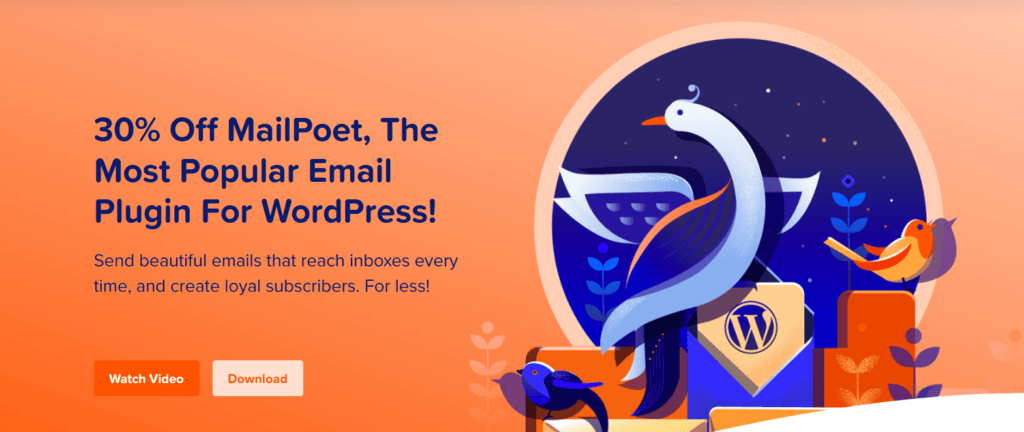 What is MailPoet-30% off