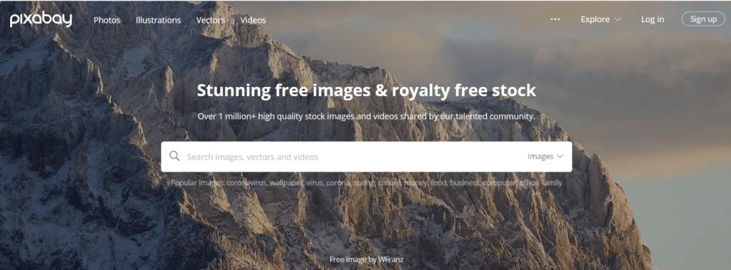 Stock Images for Websites-Pixabay