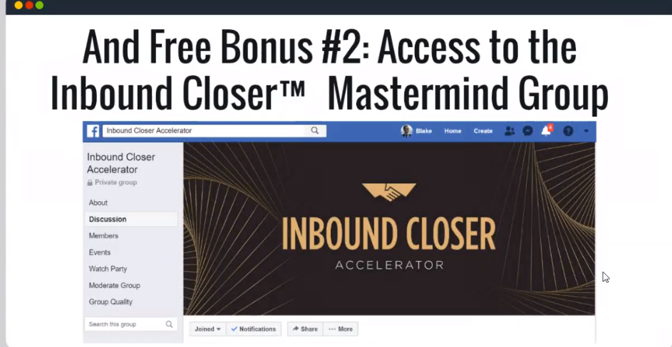 What is Inbound Closer