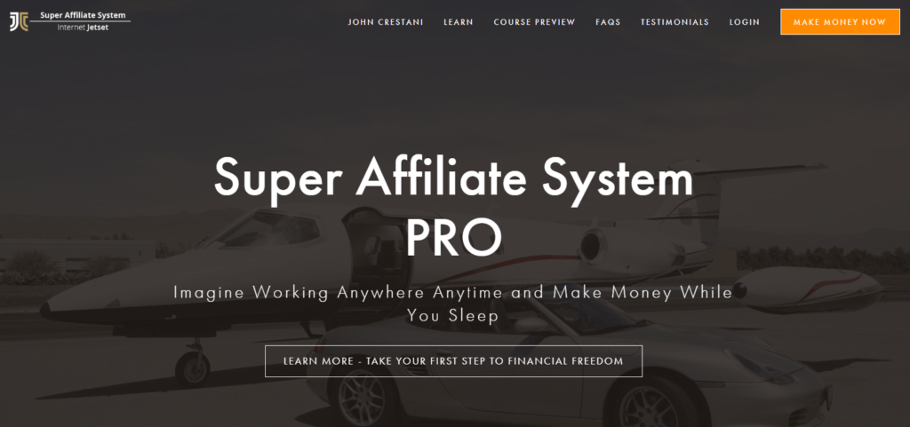 What is Super Affiliate System Pro-Sign up